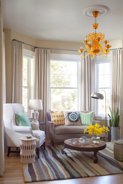 Gorgeous Living Room Design Ideas in Eclectic Style 3
