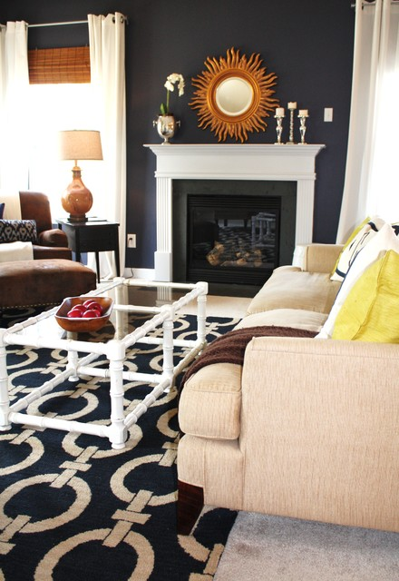Gorgeous Living Room Design Ideas in Eclectic Style 5