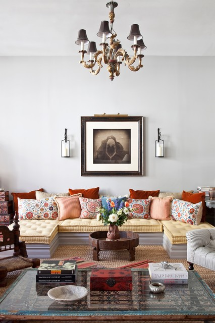 Gorgeous Living Room Design Ideas in Eclectic Style 6