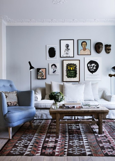 19 Gorgeous Living Room Design Ideas in Eclectic Style