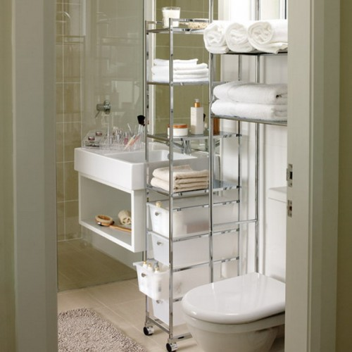 Great Storage and Organization Ideas for Small Bathrooms (10)