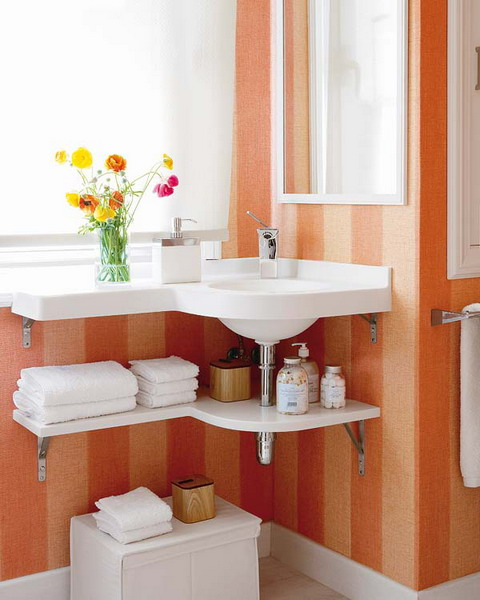 Great Storage and Organization Ideas for Small Bathrooms (11)