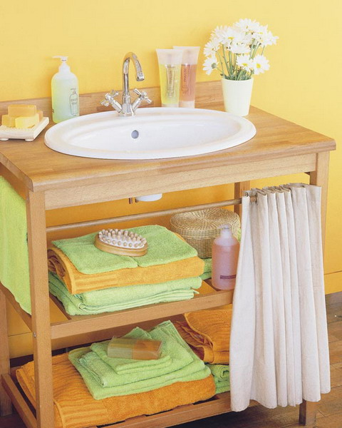 Great Storage and Organization Ideas for Small Bathrooms (12)