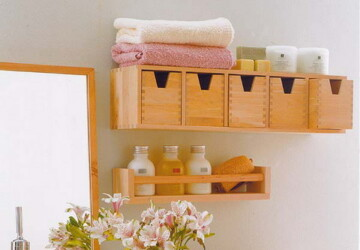 35 Great Storage and Organization Ideas for Small Bathrooms - Storage, Small Bathrooms, Organization, ideas