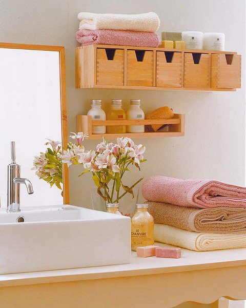Great Storage and Organization Ideas for Small Bathrooms (3)