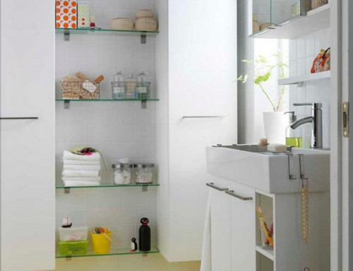 Great Storage and Organization Ideas for Small Bathrooms (8)