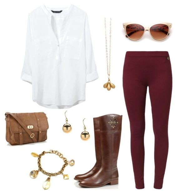 Perfect Fall Look 23 Outfit Ideas in Burgundy Color (10)