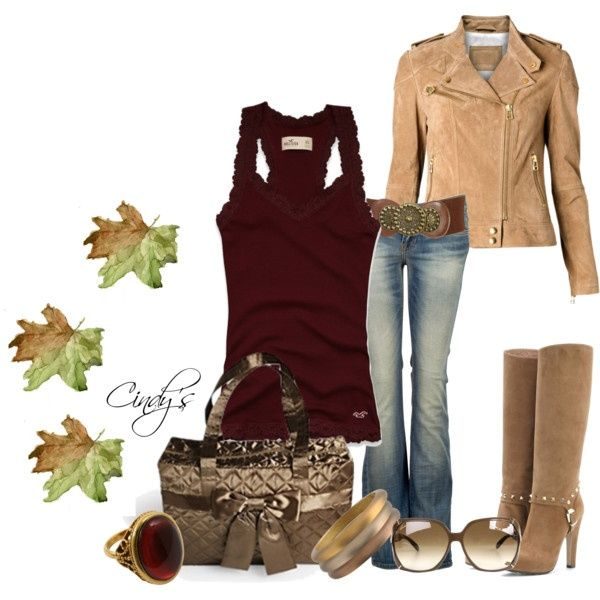 Perfect Fall Look 23 Outfit Ideas in Burgundy Color (11)