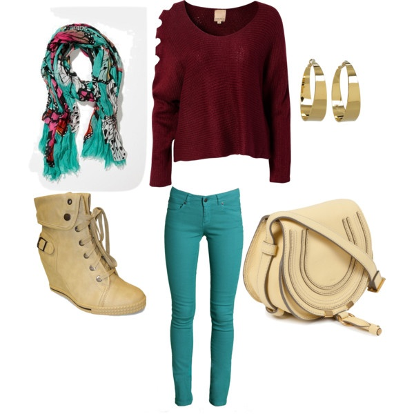 Perfect Fall Look 23 Outfit Ideas in Burgundy Color (13)