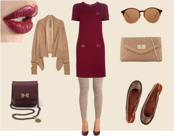 Perfect Fall Look 23 Outfit Ideas in Burgundy Color (16)