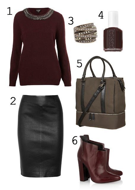 Perfect Fall Look 23 Outfit Ideas in Burgundy Color (18)