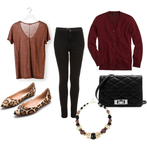 Perfect Fall Look 23 Outfit Ideas in Burgundy Color (2)