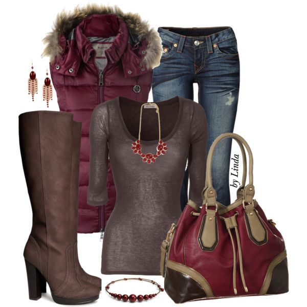 Perfect Fall Look 23 Outfit Ideas in Burgundy Color (20)
