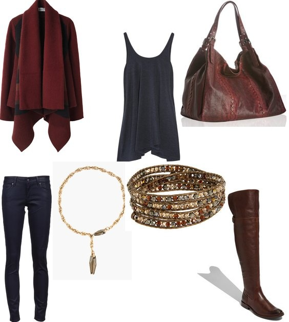 Perfect Fall Look 23 Outfit Ideas in Burgundy Color (3)