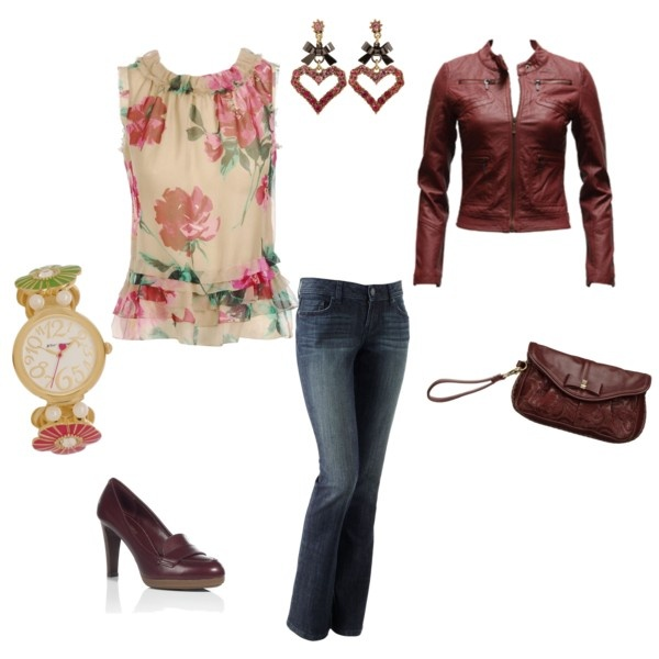 Perfect Fall Look 23 Outfit Ideas in Burgundy Color (6)