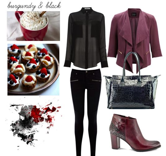 Perfect Fall Look 23 Outfit Ideas in Burgundy Color (8)