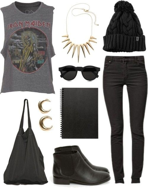 Rock Style Fashion 27 Outfit ideas and Stylish Combinations (17)