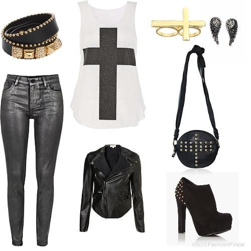 Rock Style Fashion 27 Outfit ideas and Stylish Combinations (18)