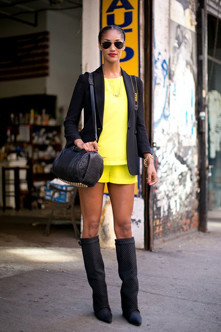 Street Style New York Fashion Week Style Motivation