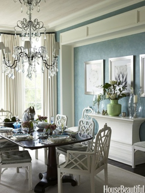 27 Great Dining Room Design Ideas in Bright and Pastel Colors