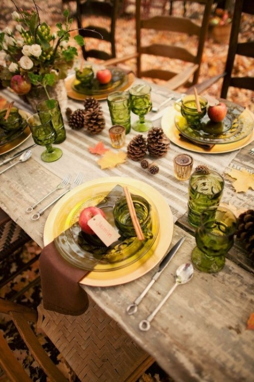 25 Beautiful Fall Wedding Table Decoration Ideas