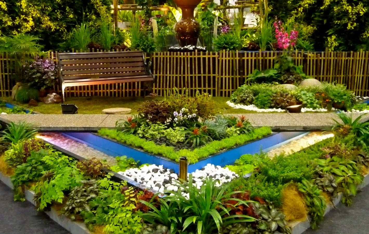 23 amazing flower garden ideas style motivation for Simple garden landscape ideas