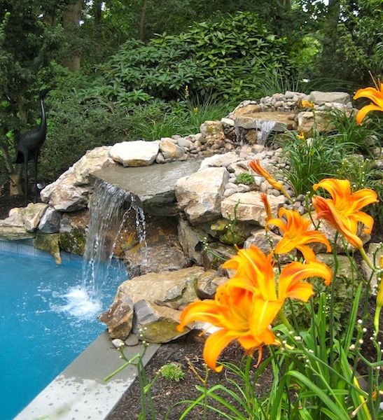 Ideas For Garden Design Relax: 26 Amazing Garden Waterfall Ideas
