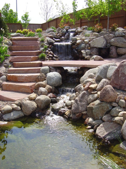 26 Amazing Garden Waterfall Ideas - Style Motivation on Waterfall Ideas For Garden id=69779