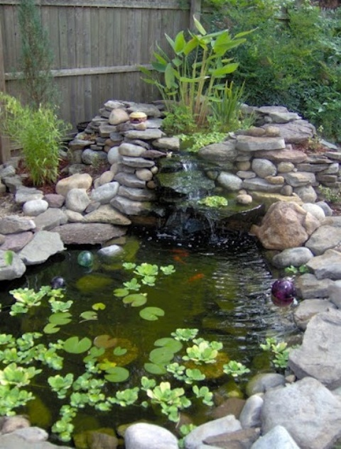 Garden waterfall ideas waterfalls Garden waterfall designs