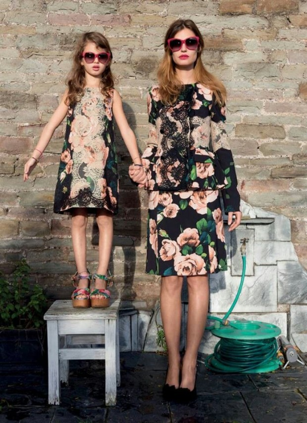 mother daughter matching outfits (15)