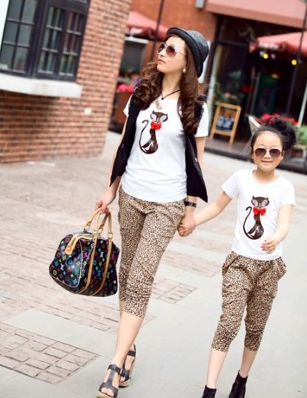mother daughter matching outfits (6)