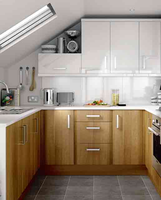 27 Brilliant Small Kitchen Design Ideas - Style Motivation