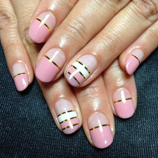 40 Stylish Pink Nail Art Ideas