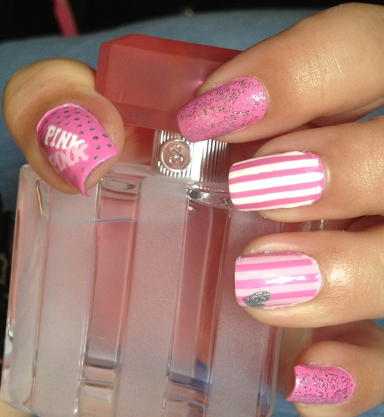 40 Stylish Pink Nail Art Ideas Style Motivation