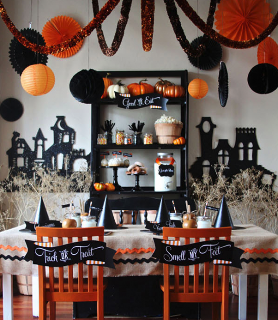 13 crazy party themes for great halloween party style for How to have a great halloween party