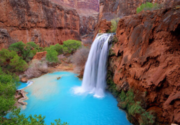 14 Beautiful Waterfalls in United States that Will Take Your Breath Away - waterfalls, waterfall, united states