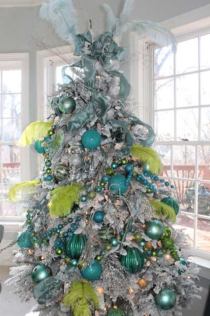 16 amazing christmas tree decorating ideas style motivation - Sapin de noel decore ...