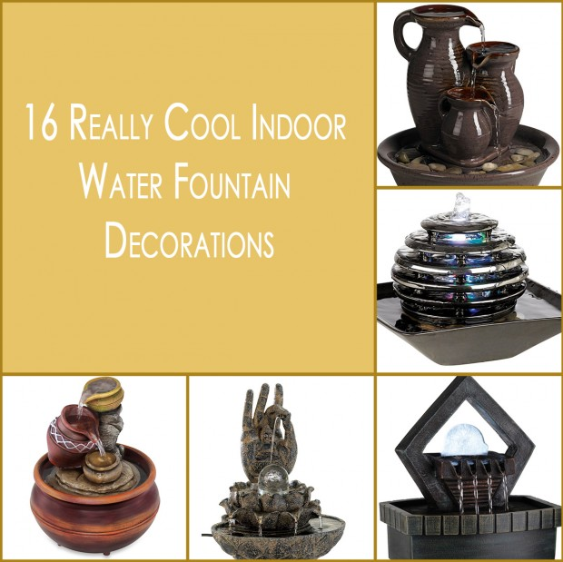 16 Really Cool Indoor Water Fountain Decorations