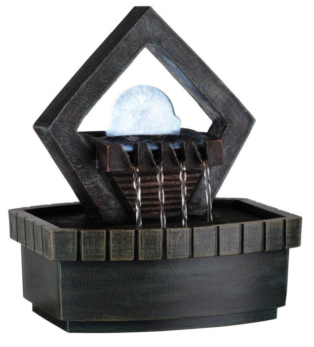 16 Really Cool Indoor Water Fountain Decorations (3)