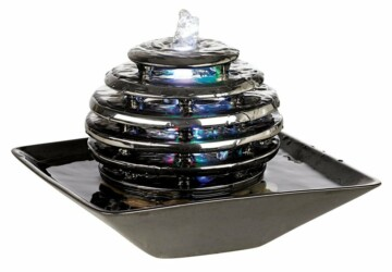 16 Really Cool Indoor Water Fountain Decorations - water fountain, water, tabletop fountain, stone, indoor water fountain, fountain, cascade fountain