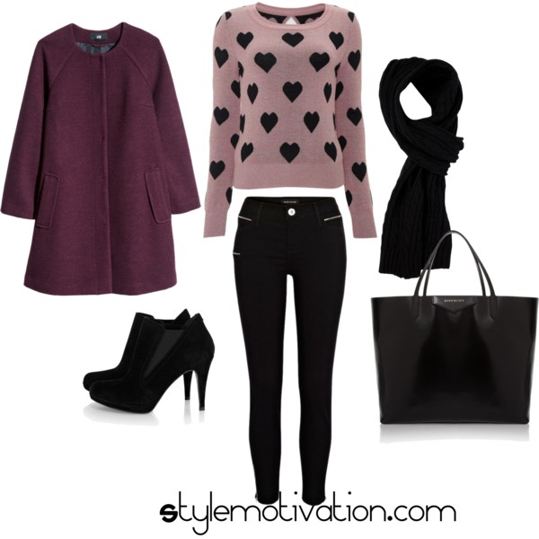 17 Cozy and Casual Combinations for Winter (10)