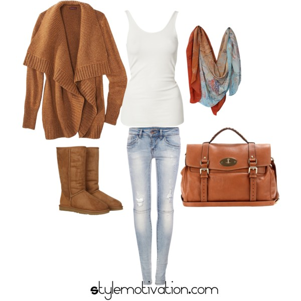17 Cozy and Casual Combinations for Winter (11)