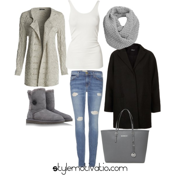 17 Cozy and Casual Combinations for Winter (12)