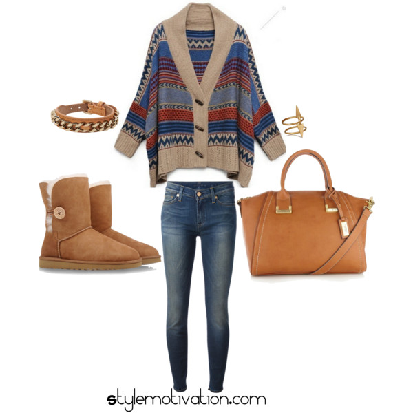 17 Cozy and Casual Combinations for Winter (13)