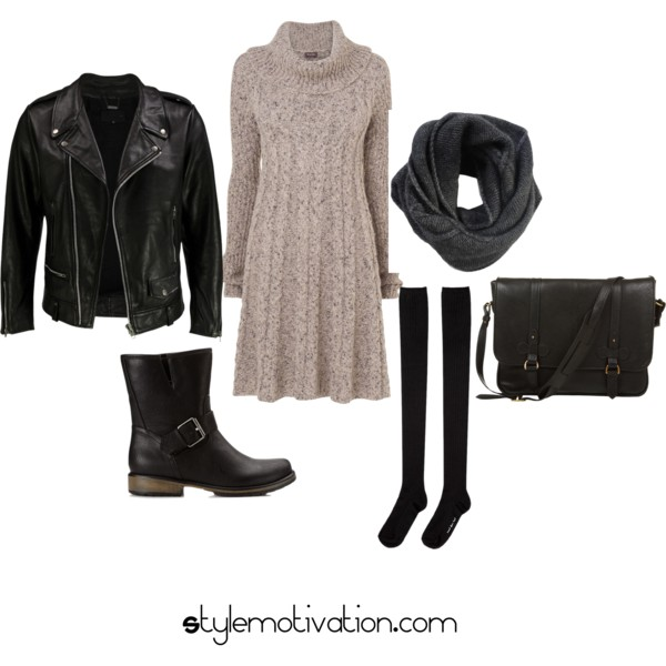 17 Cozy and Casual Combinations for Winter (14)