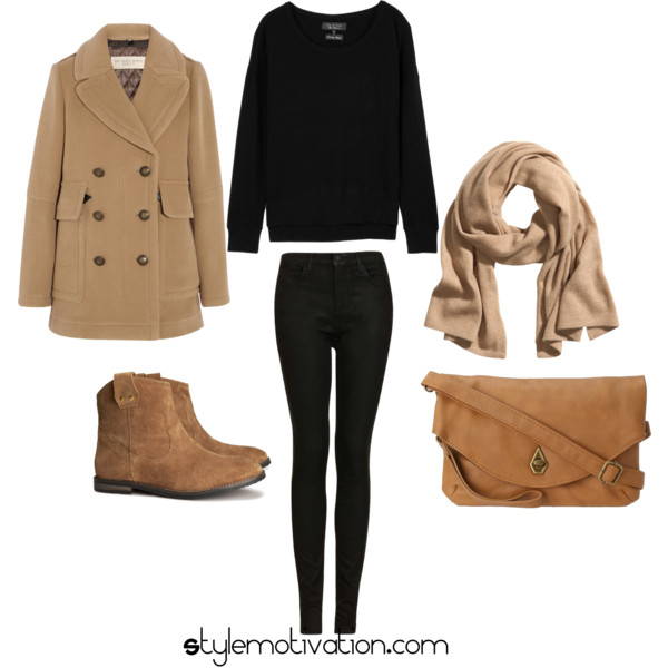 17 Cozy and Casual Combinations for Winter (15)