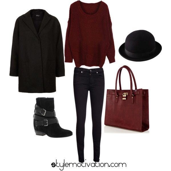 17 Cozy and Casual Combinations for Winter (16)