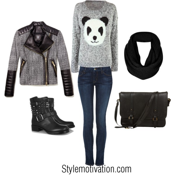 17 Cozy and Casual Combinations for Winter (3)
