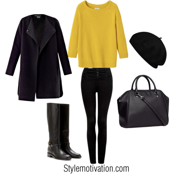 17 Cozy and Casual Combinations for Winter (6)