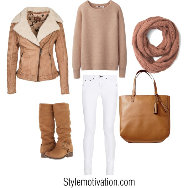 17 Cozy and Casual Combinations for Winter (7)